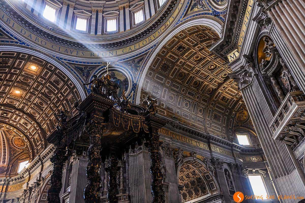 Basilica San Pedro, Roma, Italia | Que ver en Roma en 4 días