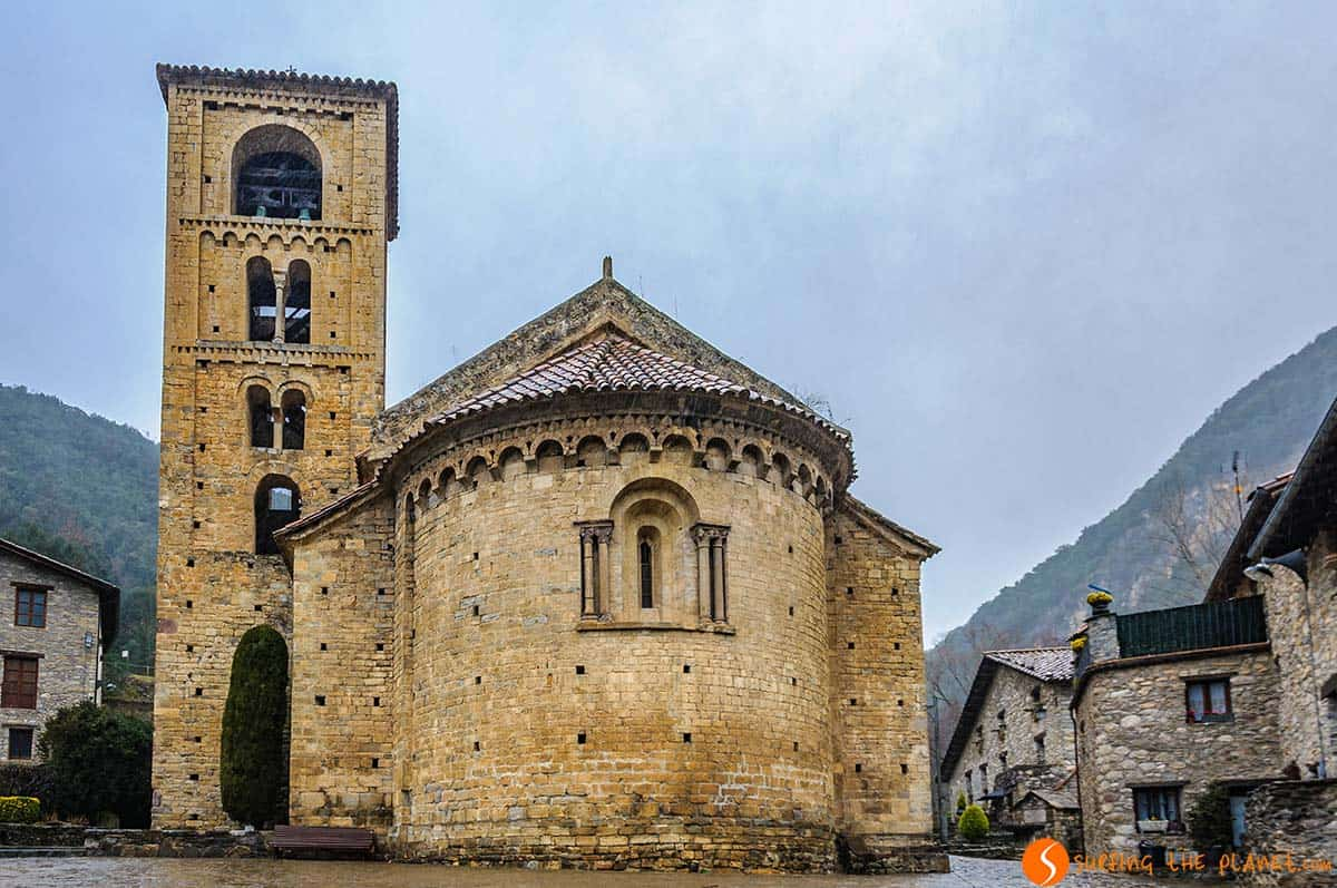 Romanesque Church, Beget, Catalonia
