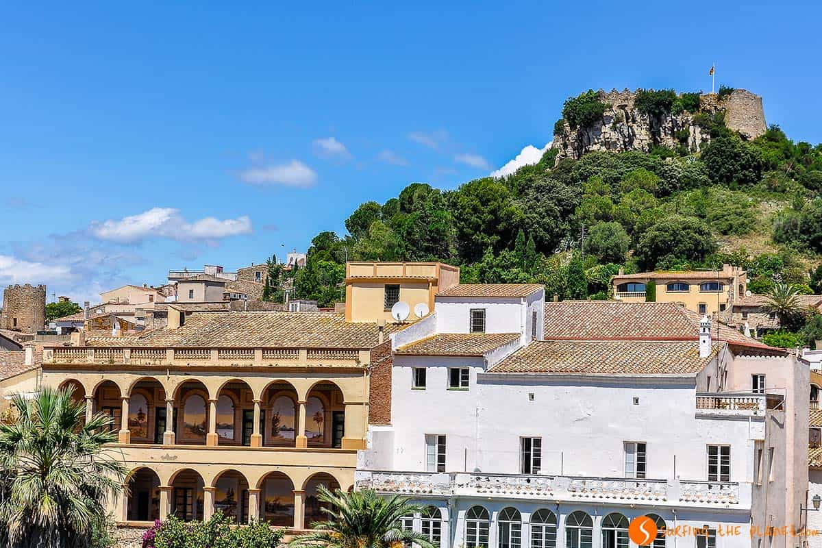 Colonial buildings, Begur, Girona, Catalonia | 25 picturesque villages near Barcelona