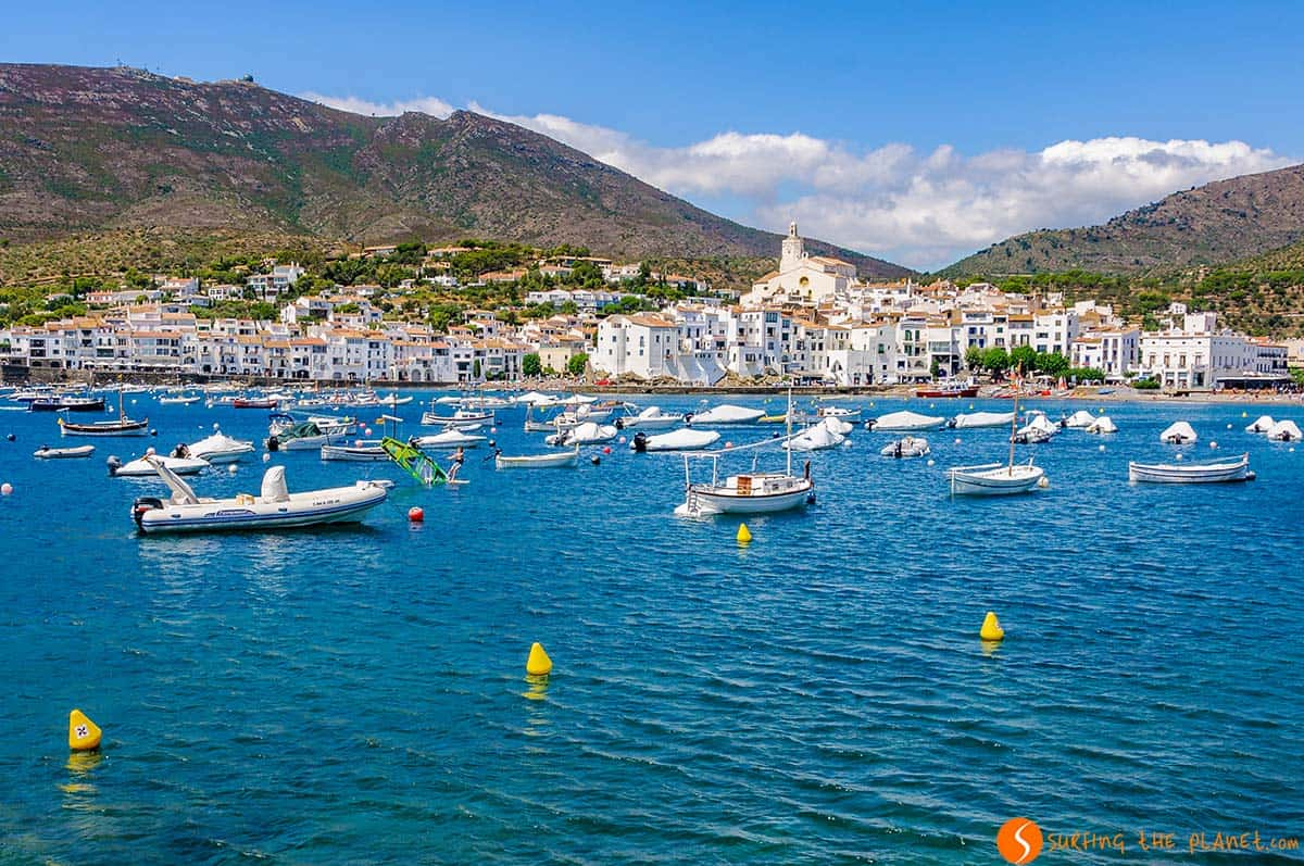 View of Cadaques, Girona, Catalonia | The 25 most beautiful villages in Catalonia