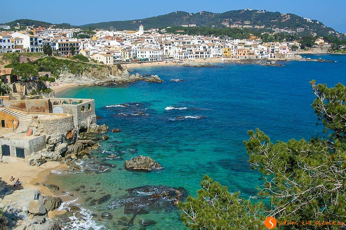 View of Calella de Palafrugell, Girona, Catalonia | Nicest Costa Brava villages in Catalonia
