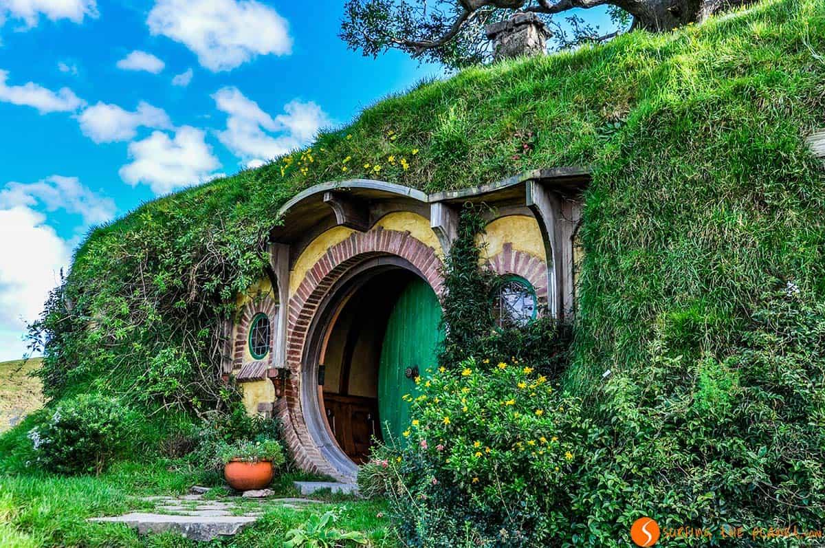 Casa Bilbo, Hobbiton, Matatama, Nueva Zelanda | Que visitar en Nueva Zelanda