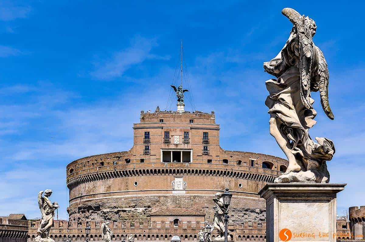 Castillo Sant'Angelo, Roma, Italia | Que ver en Roma en 4 días