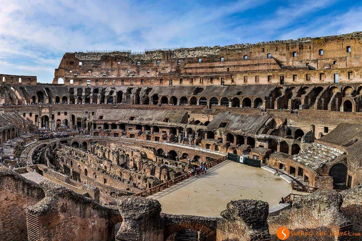 Coliseo, Roma, Italia | Que ver en Roma en 4 días