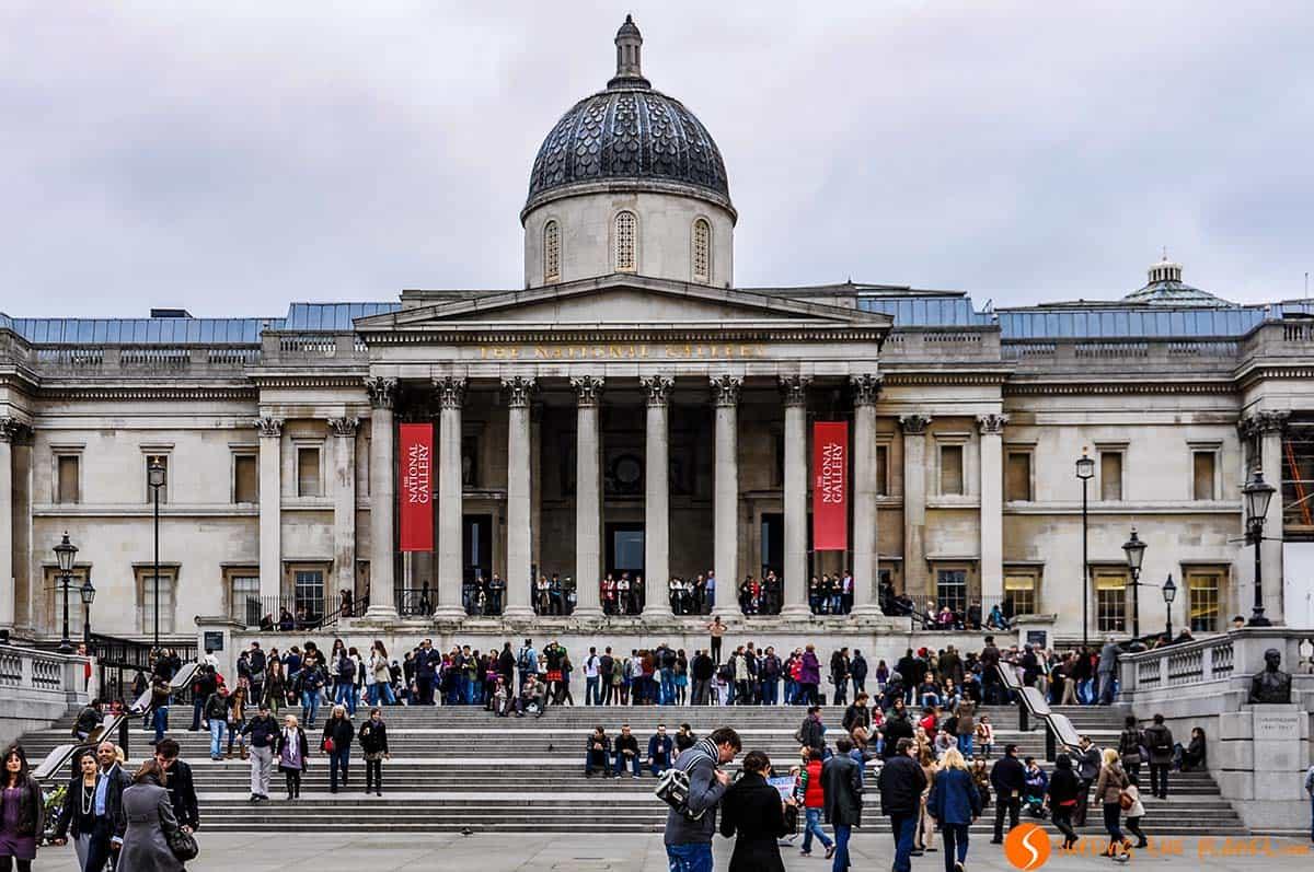 Entrada de Galería Nacional, Reino Unido | Los mejores museos de Londres
