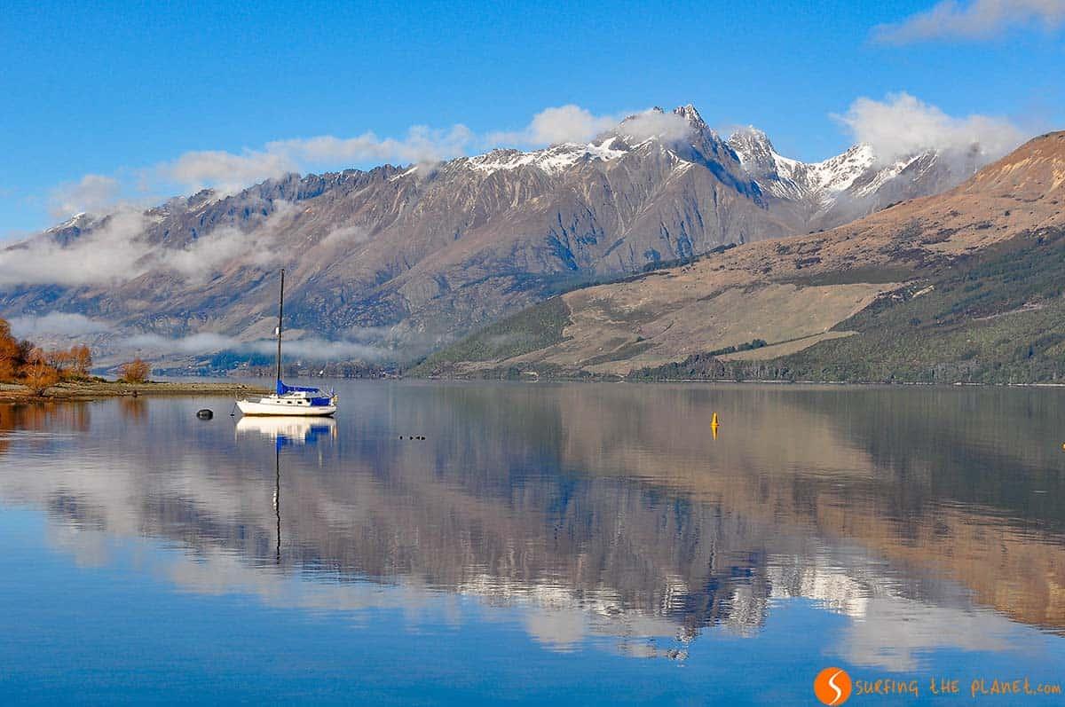 Lago Wakatipu, Glenorchy, Nueva Zelanda