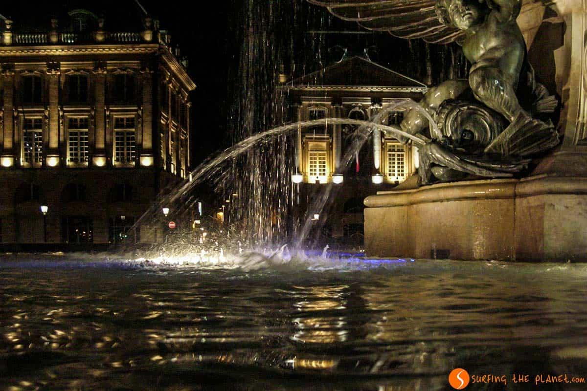 Luces nocturnas, Burdeos, Francia