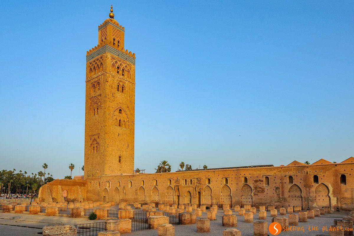 Mezquita Koutobia, Marrakech, Marruecos