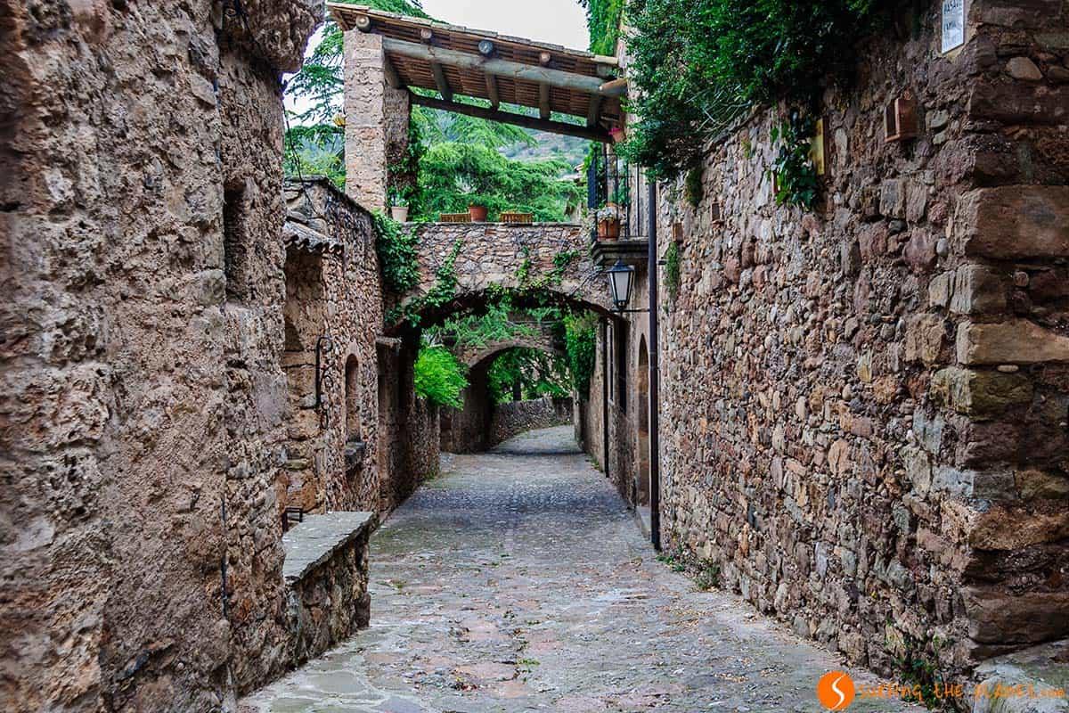Medieval street, Mura, Catalonia