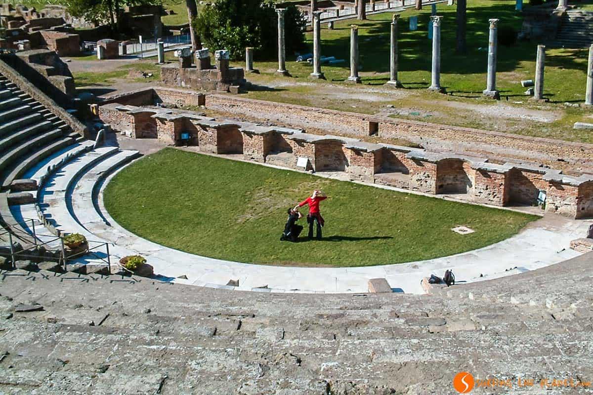 Ostia Antica, cerca de Roma, Italia | Que ver en Roma en 4 días