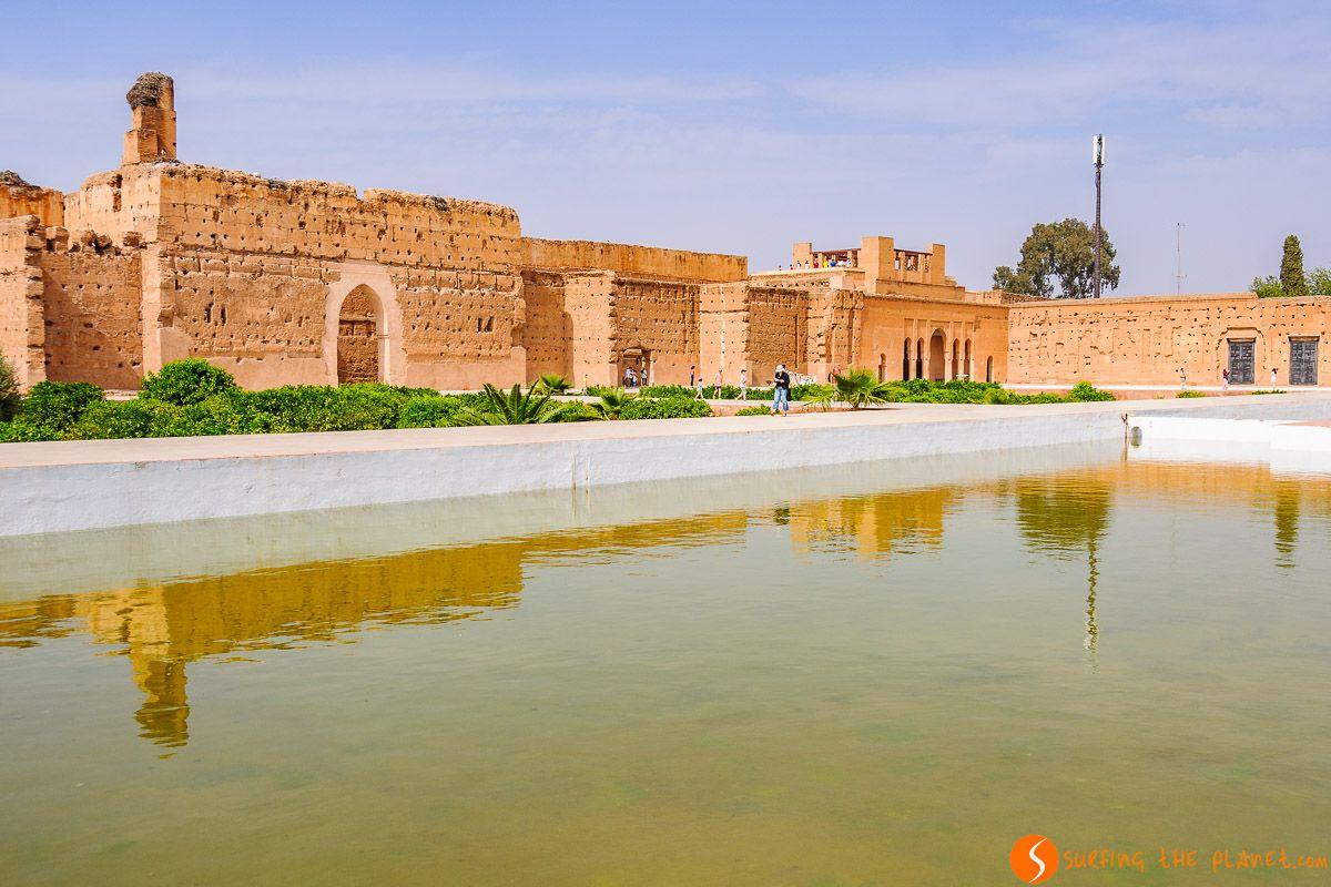 Palacio Badi, Marrakech, Marruecos