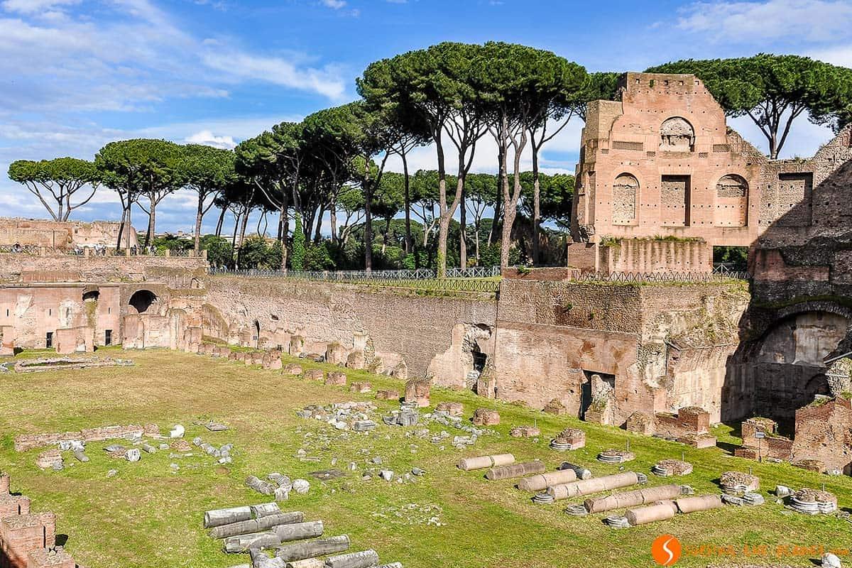 Palatino, Roma, Italia