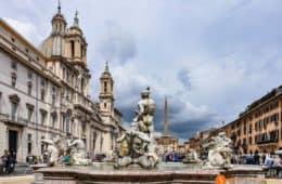 Plaza Navona, Roma, Italia