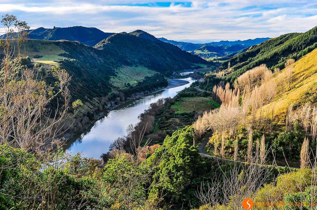 Rio Wanganui, Nueva Zelanda