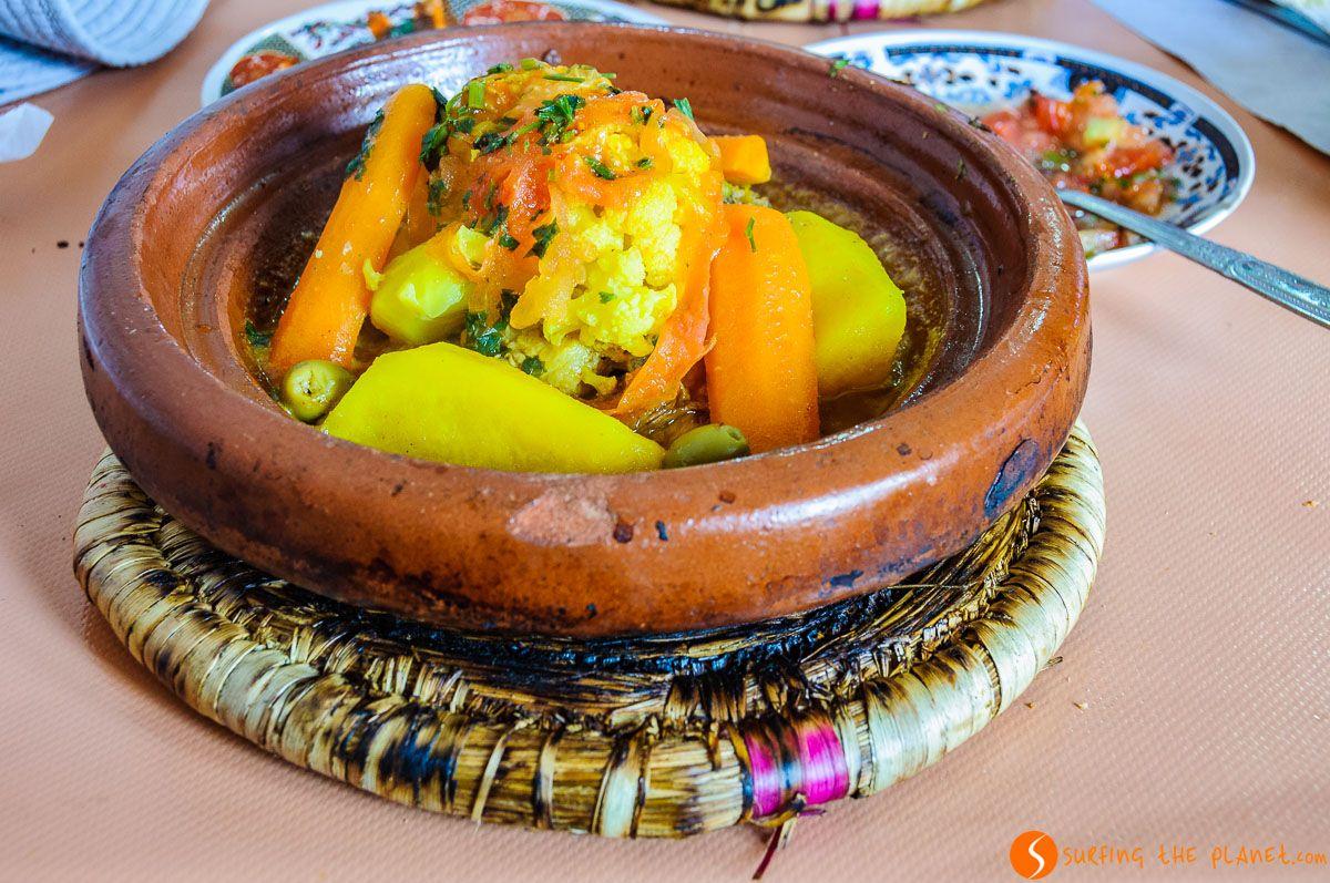 Tajine auténtico, Marrakech, Marruecos
