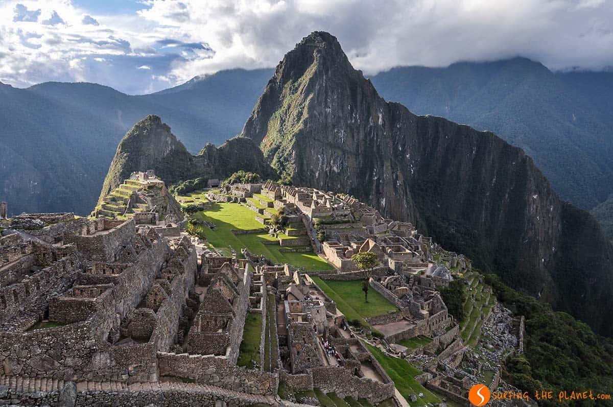 Tarde, Machu Picchu, Perú