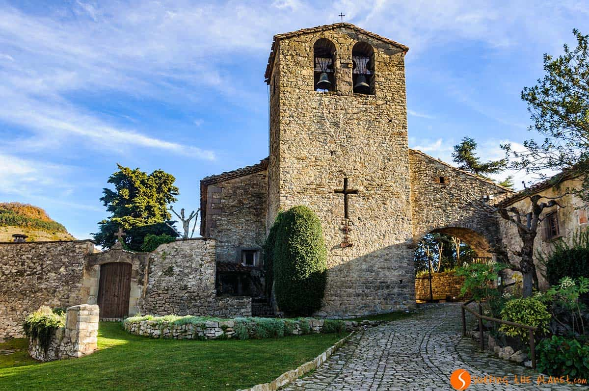 Church, Tavertet, Catalonia | The most beautiful medieval villages in Catalonia