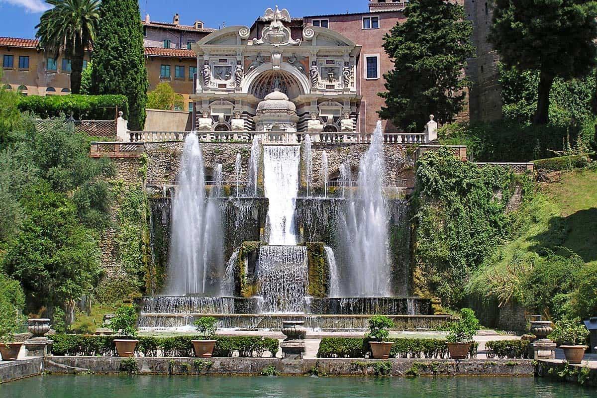 Villaa d'Este, Tivoli, Italia | Que ver en Roma en 4 días