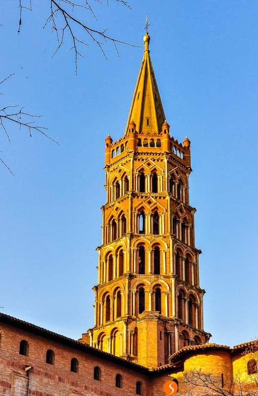 Basilicia Saint-Severnin, Toulouse, Francia