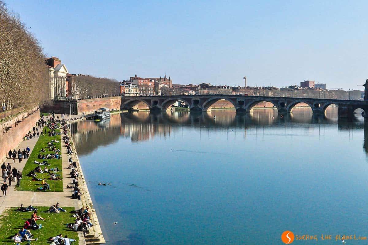 Orilla del río Garona, Toulouse