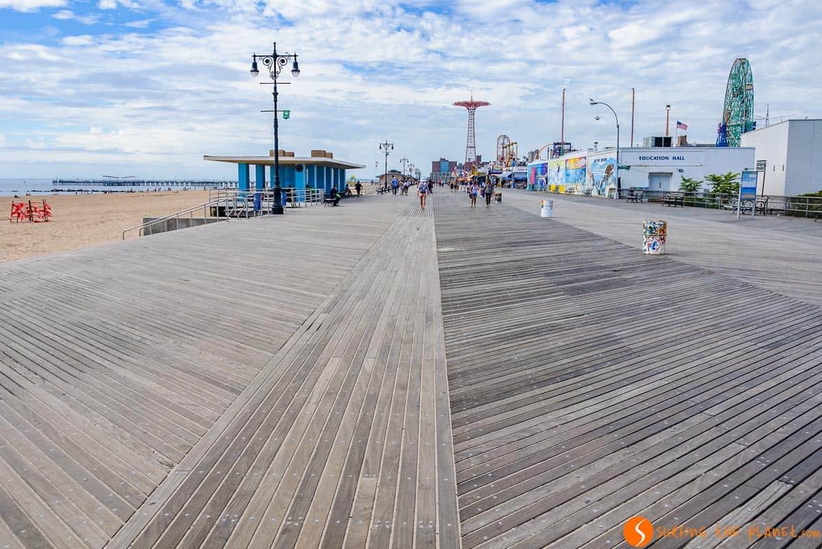 Qué visitar en Brooklyn | Paseo Marítimo en Coney Island, Brooklyn, Nueva York