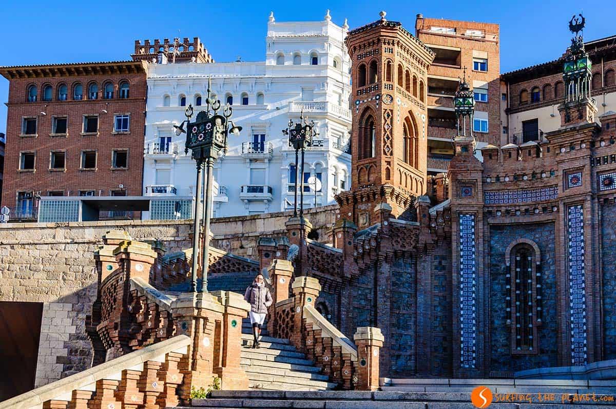 Escalinata, Teruel, España
