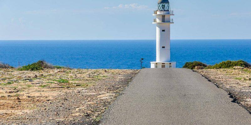 Faro Cap de Barbaria, Formentera, España