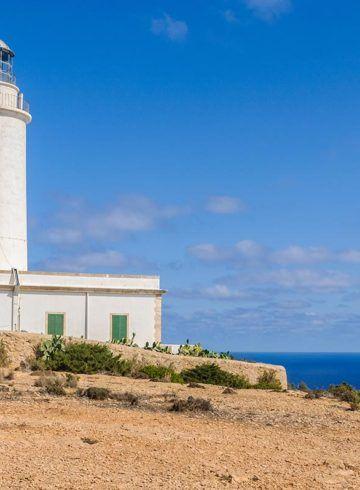 Faro de la Mola, Formentera, España