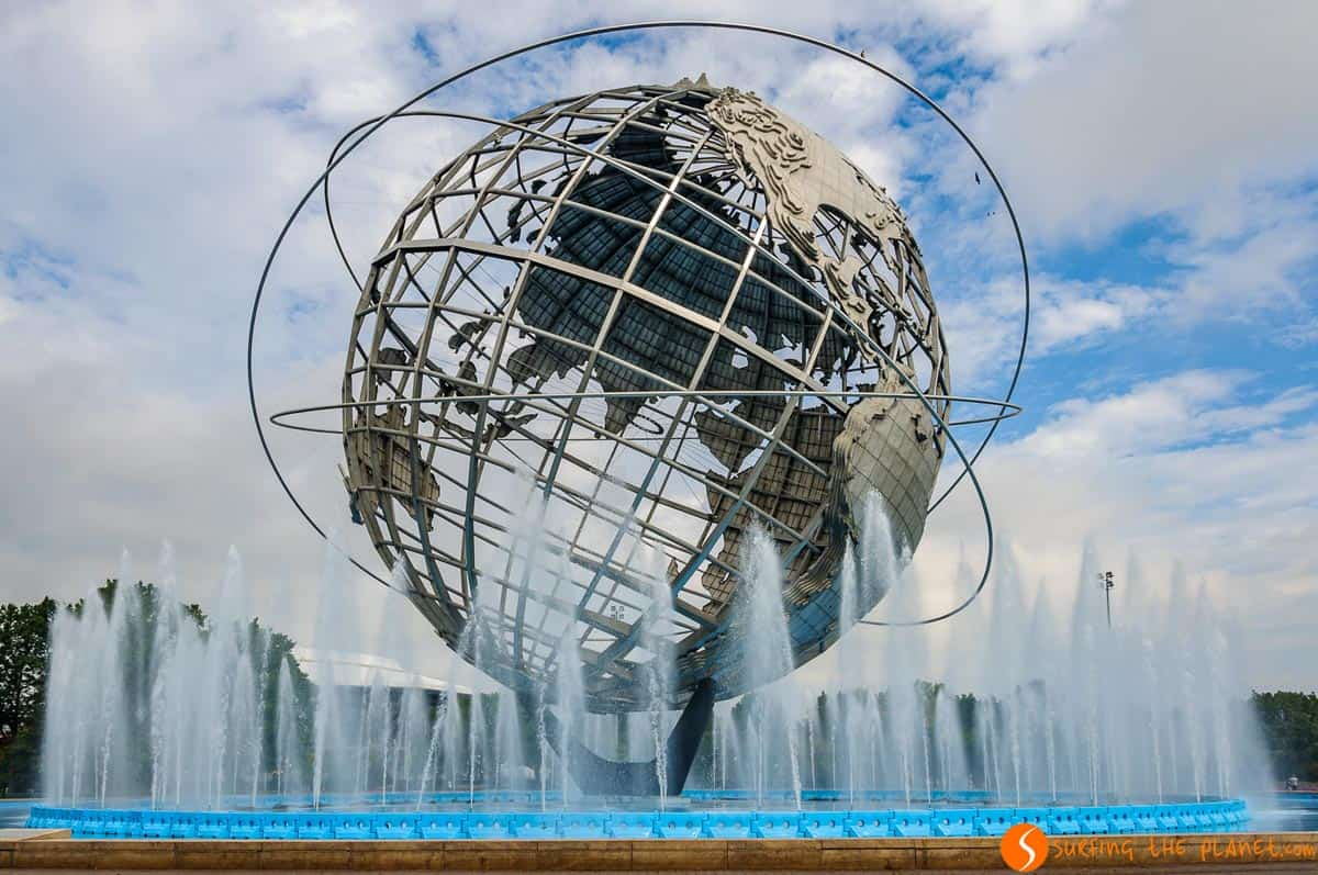 Globo, Flushing Meadows, Nueva York