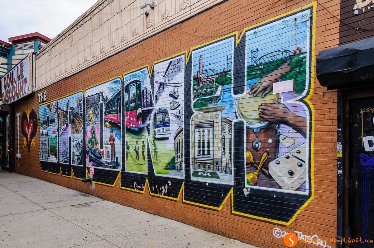 Graffiti, El Bronx, Nueva York | Tour de Contrastes Nueva York