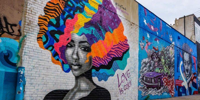 Graffiti en Brushwick, Brooklyn, Nueva York