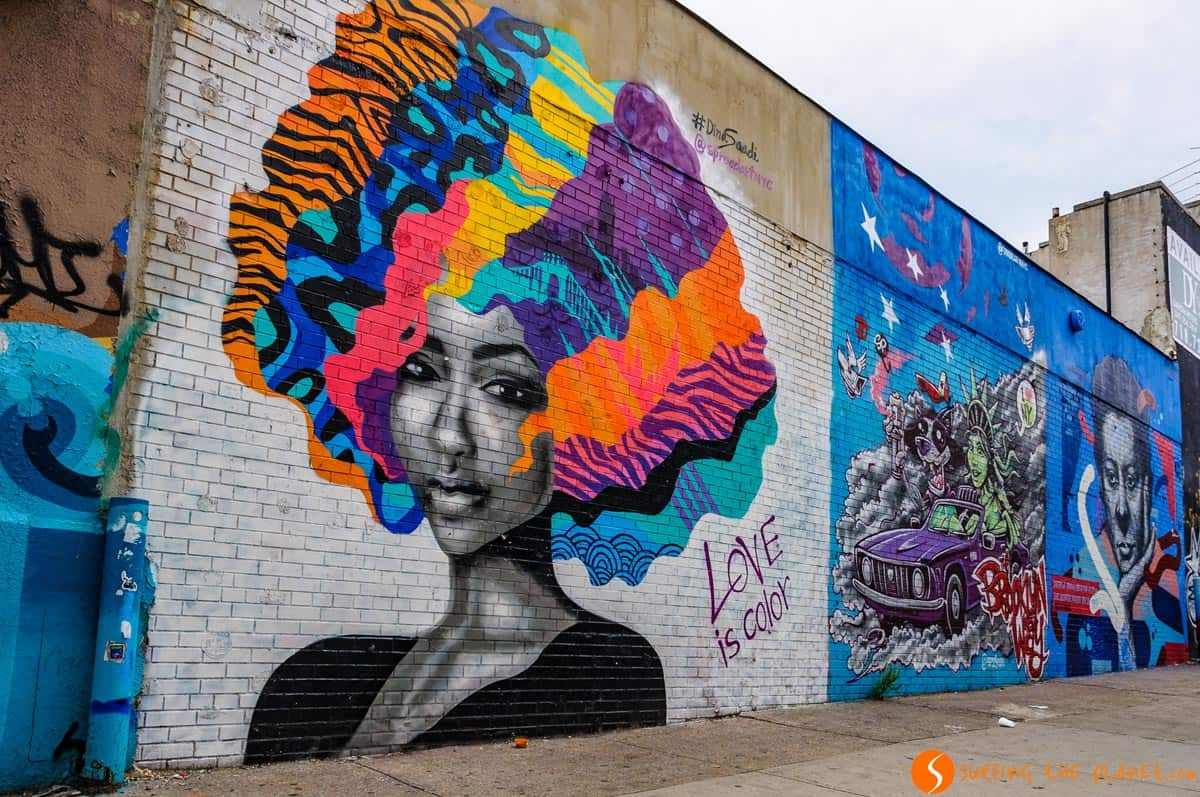 Graffiti en Brushwick, Brooklyn, Nueva York | Qué ver y hacer en Brooklyn