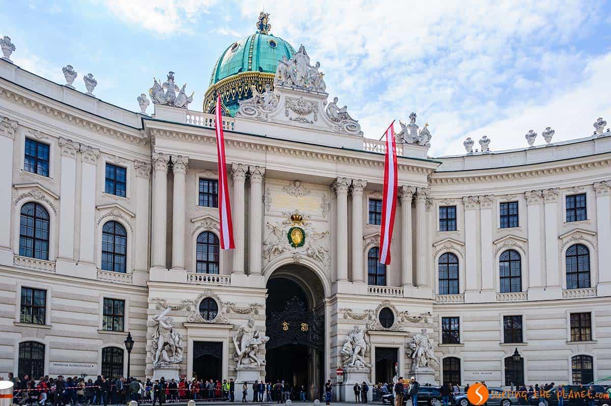 Palazzo Hofsburg, Vienna, Austria
