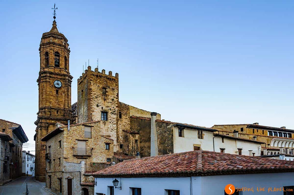 Iglesuela del Cid, Teruel, España