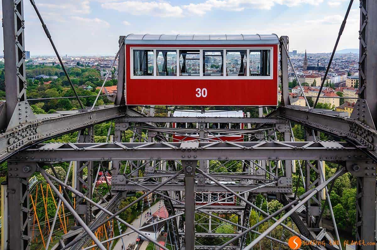 Ruota panoramica nel Prater, Vienna, Austria