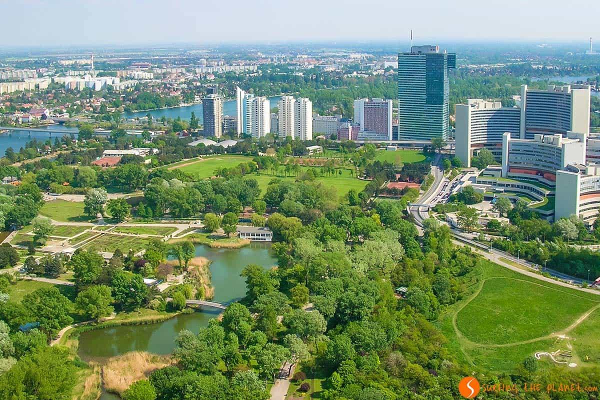 Parco del Danubio, Vienna, Austria | Cosa visitare a Vienna in 2 o 3 giorni