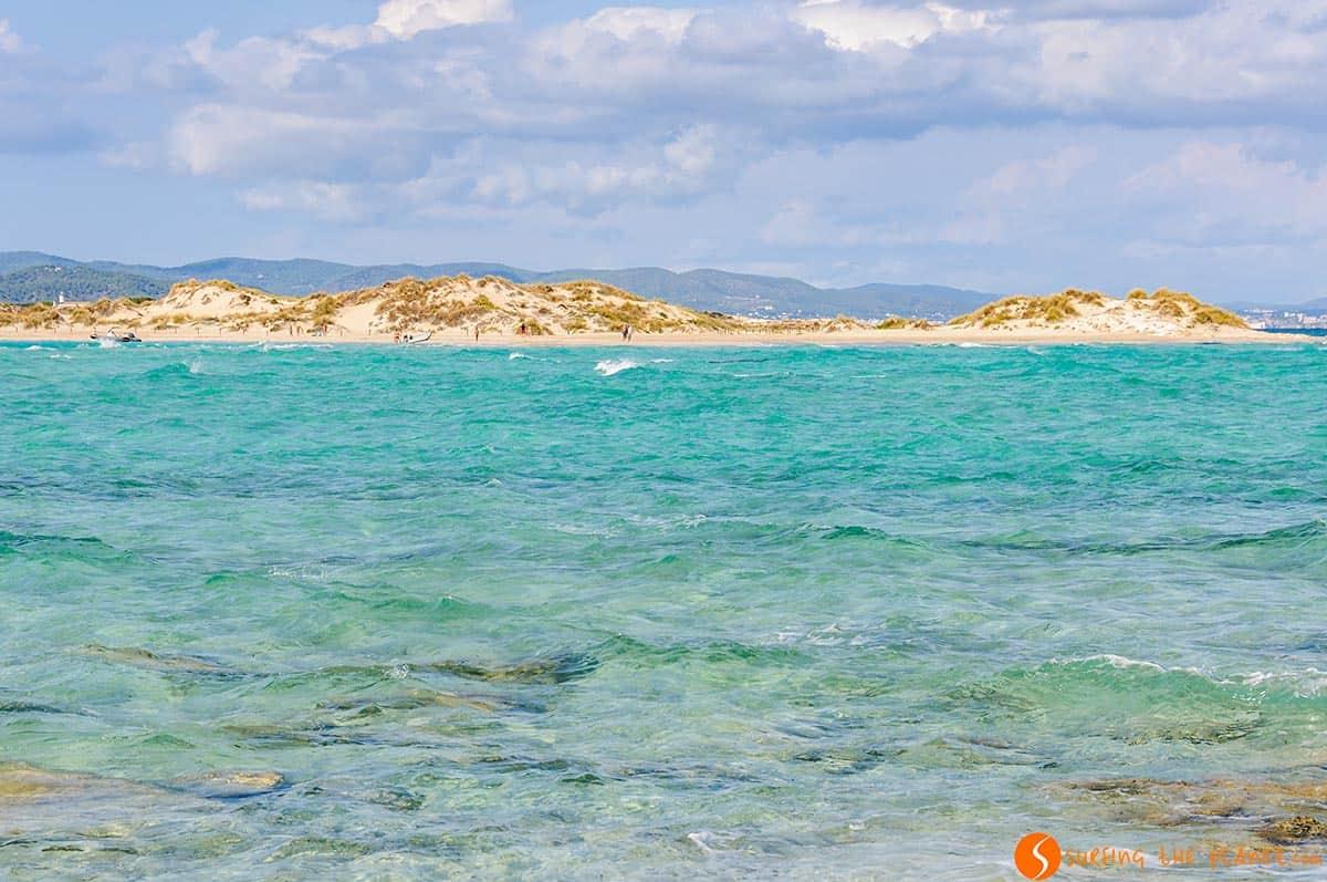 Spiaggia Isola Espalmador, Formentera, Spagna