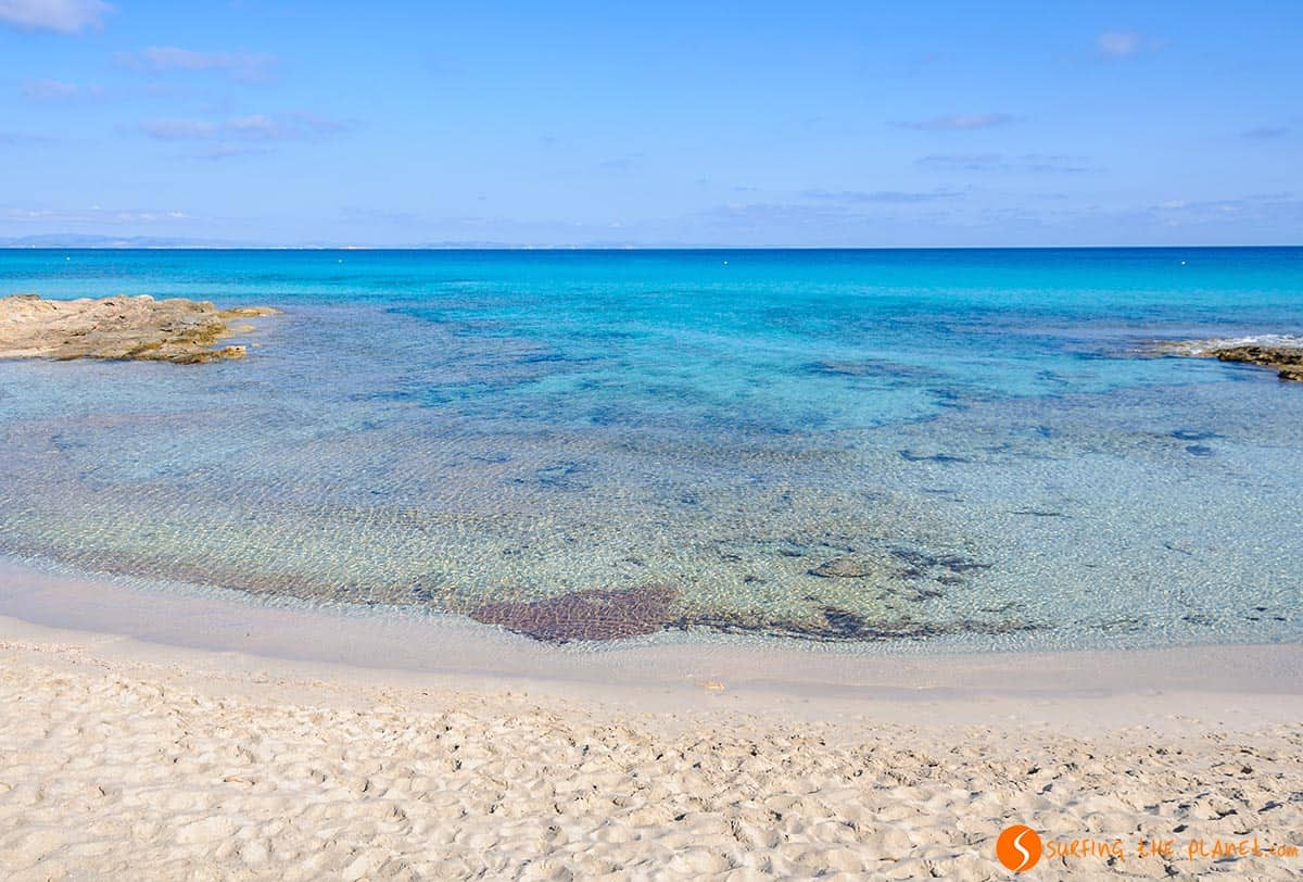 Guide to the 10 BEST BEACHES in FORMENTERA