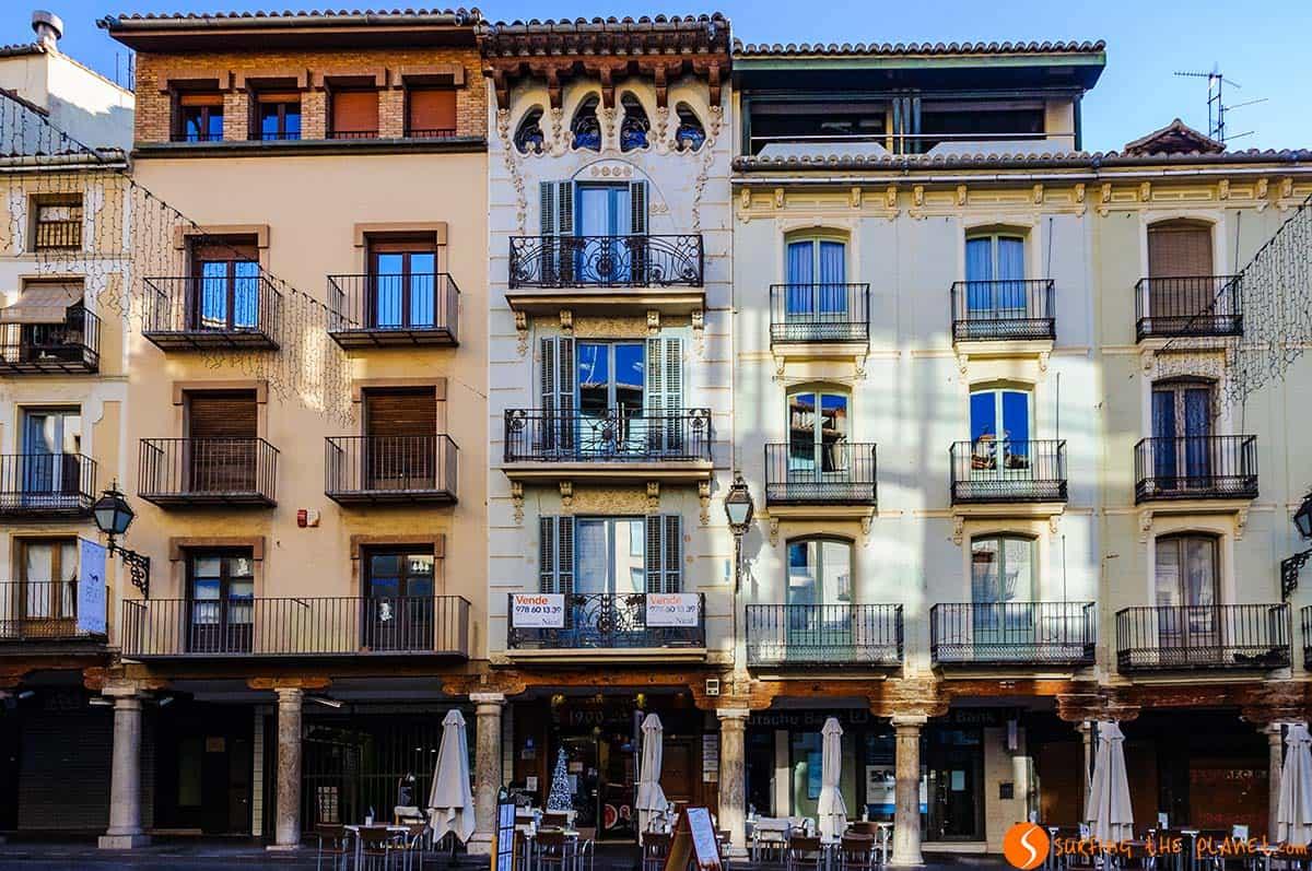 Plaza Torico, Teruel, España