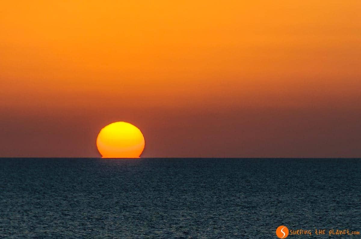 Tramonto, Punta Rasa, Formentera, Spagna