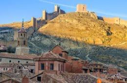 Vistas desde el Castillo, Albarracín, Teruel, España