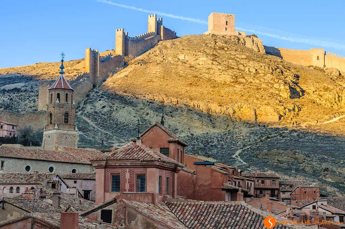 View from the Castle, Albarracín, Spain | What to see and do in Teruel