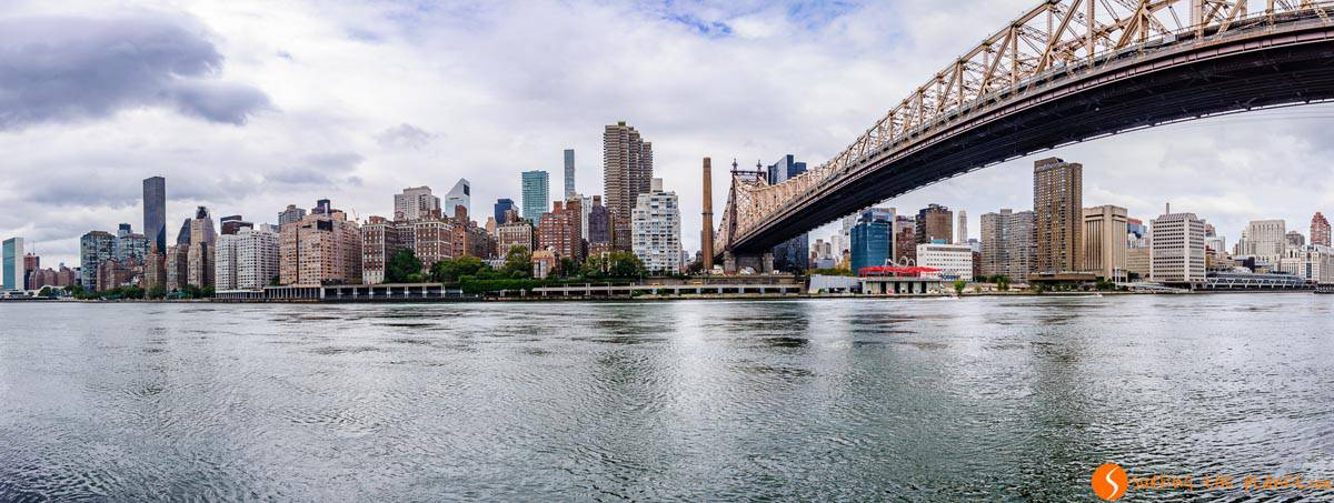 View of the skyline from Roosevelt Island, New York | Images of New York