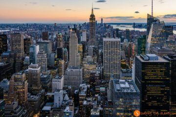 Vista Manhattan desde Top of the Rock, Nueva York