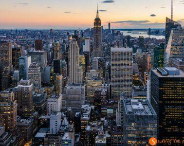 Vista Manhattan desde Top of the Rock, Nueva York