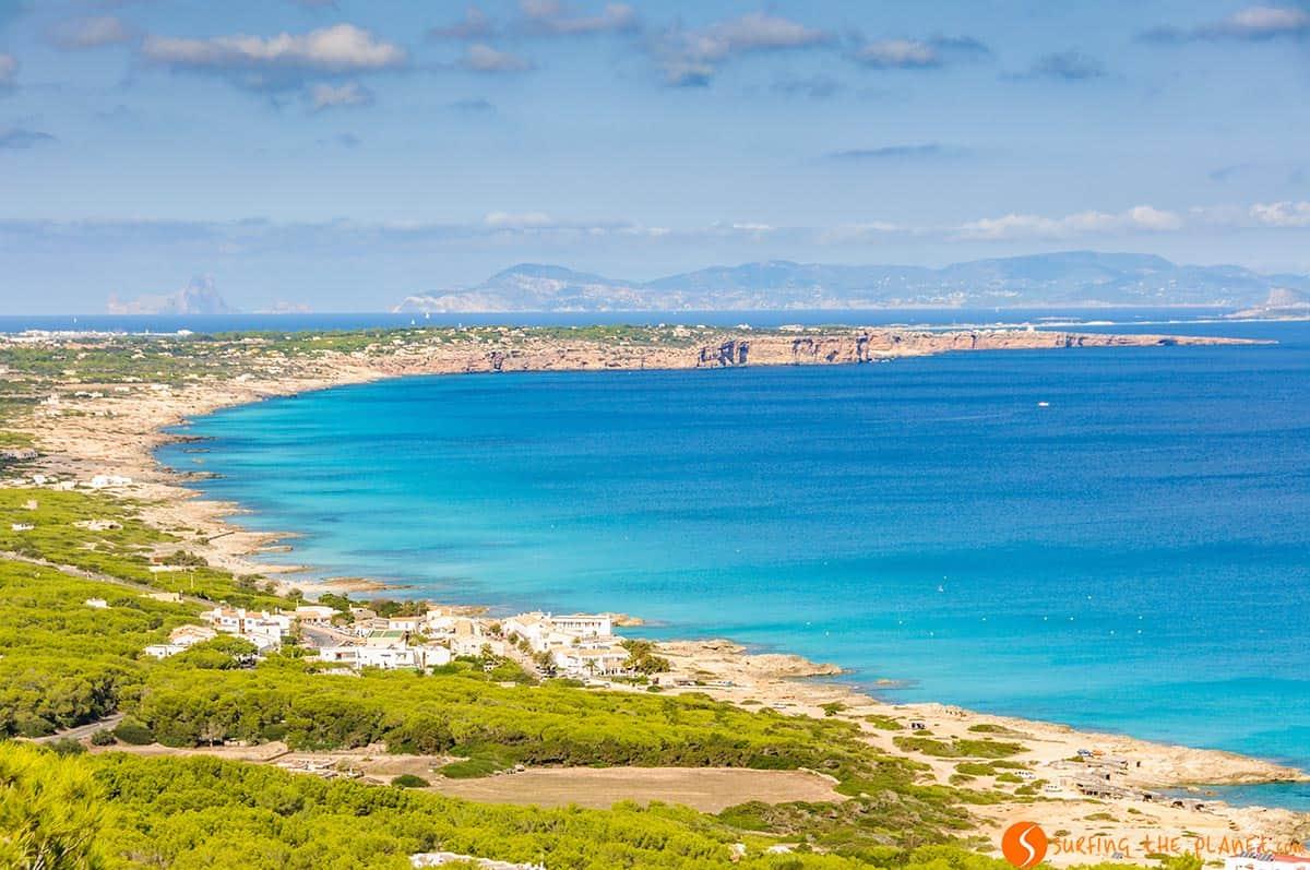 Paesaggio di Formnentera, Spagna | Cosa fare a Formentera