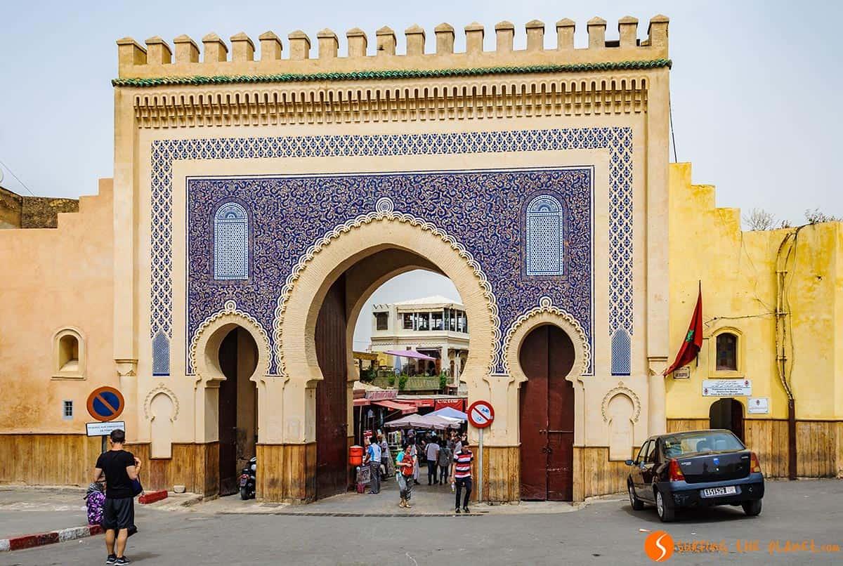 Bab Boujeloud, Fez, Marruecos
