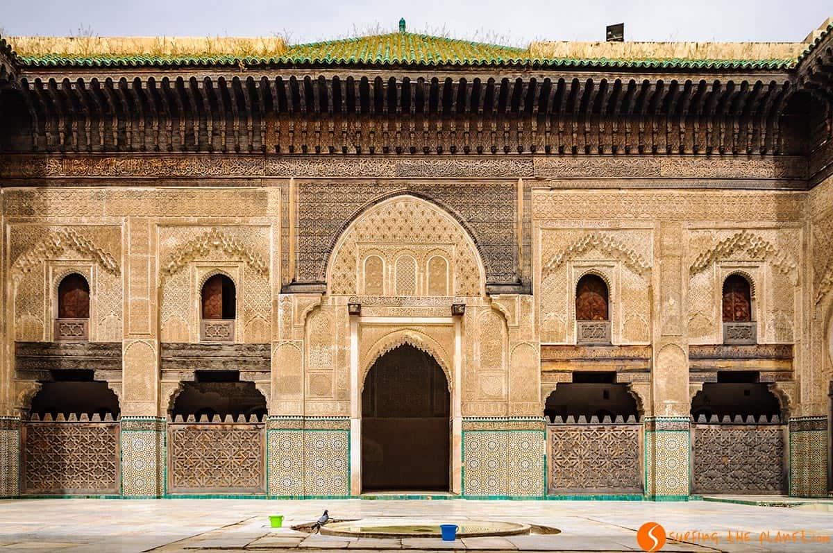 Madrasa Bou Inania, Fez, Marruecos | Qué visitar en Fez