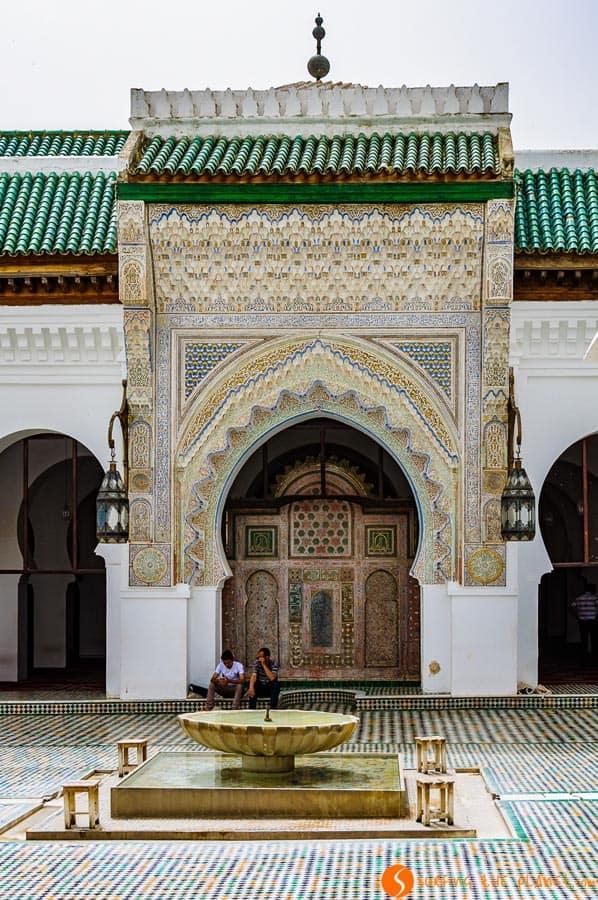 Mezquita Al-Karaouine, Fez, Marruecos