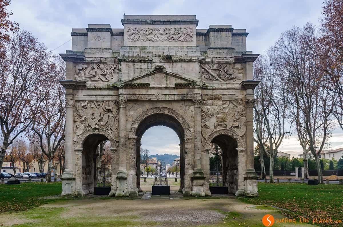Arco de Triunfo, Orange, La Provenza, Francia